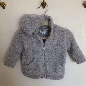 Barefoot Dreams Grey Sweater Jacket 🐰